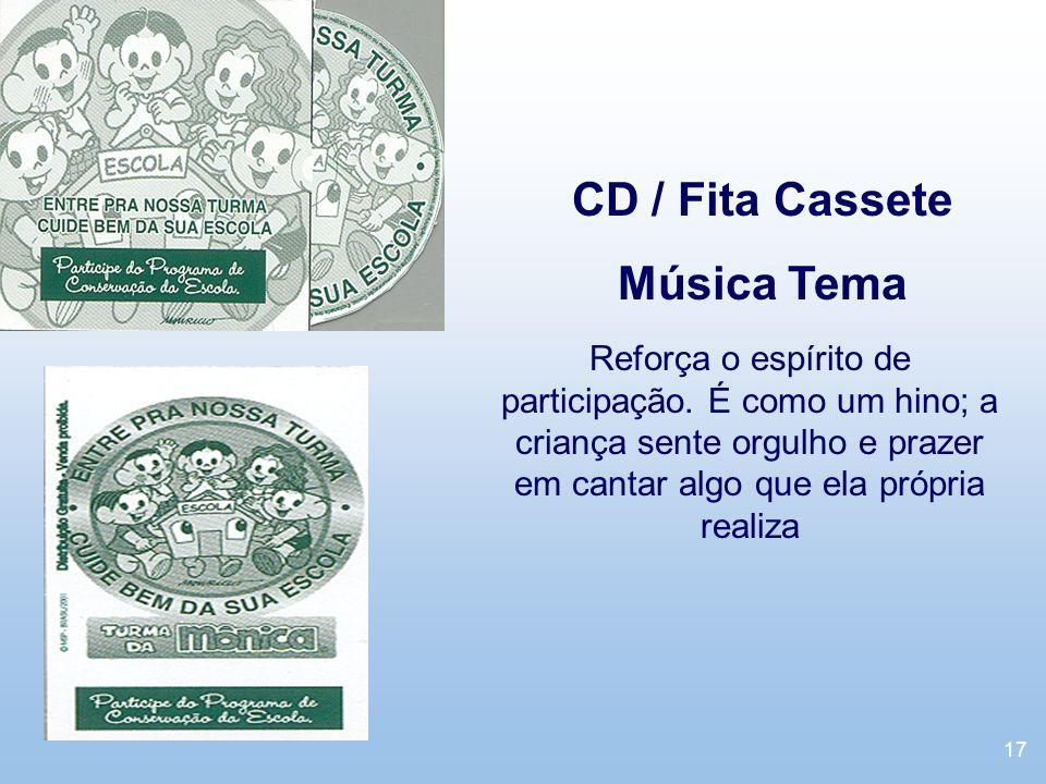 CD / Fita Cassete Música Tema