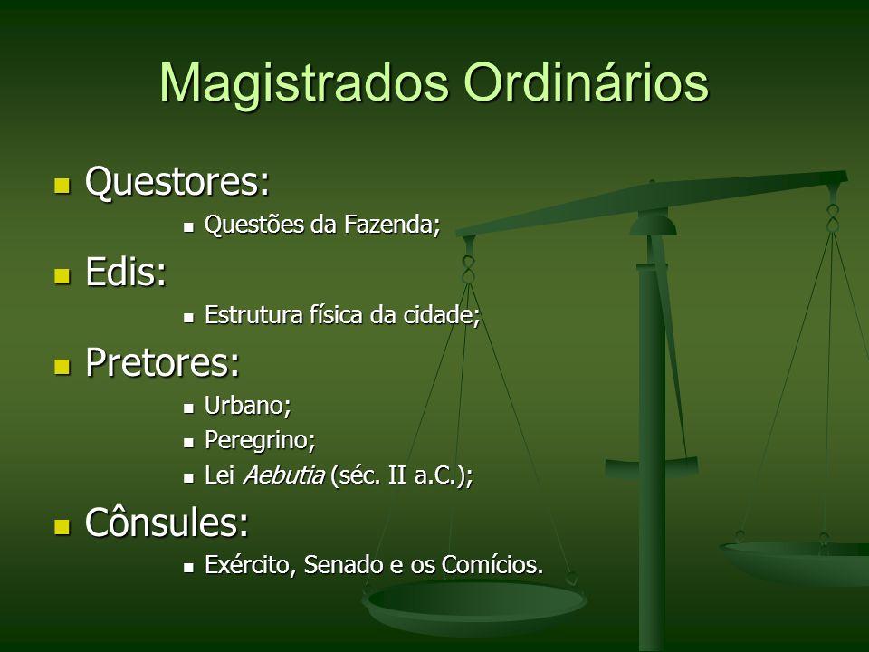 Magistrados Ordinários