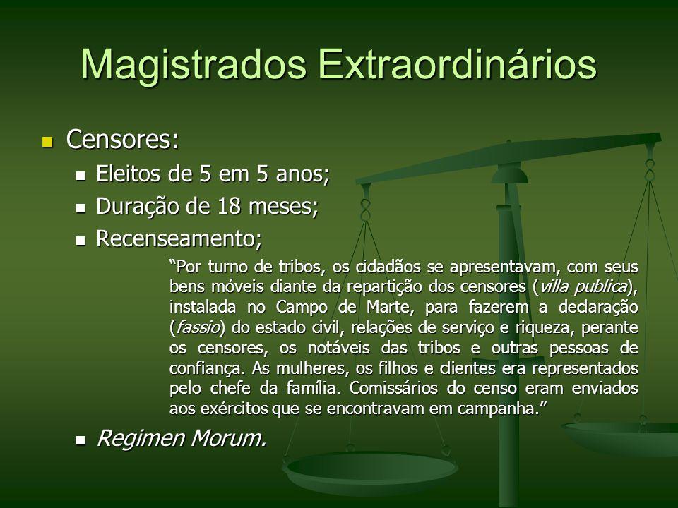 Magistrados Extraordinários