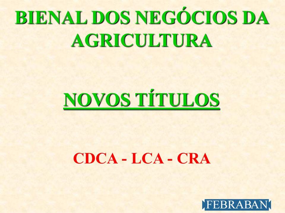 BIENAL DOS NEGÓCIOS DA AGRICULTURA