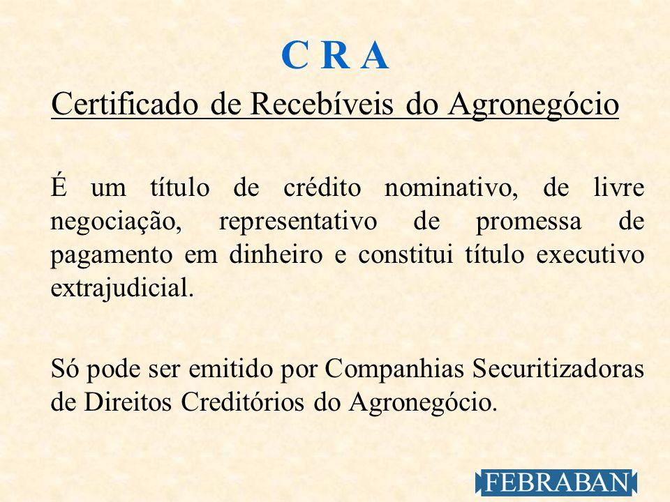 Certificado de Recebíveis do Agronegócio