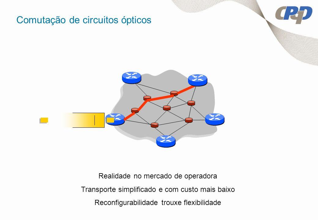 Comutação de circuitos ópticos