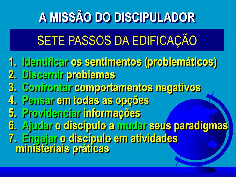 A MISSÃO DO DISCIPULADOR