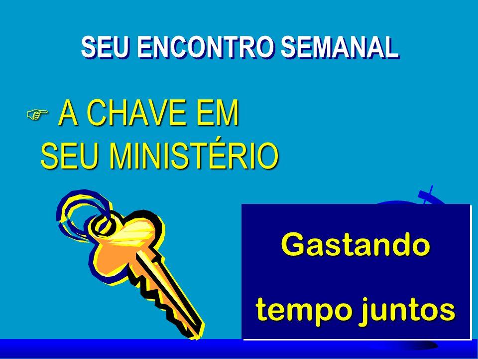 A CHAVE EM SEU MINISTÉRIO