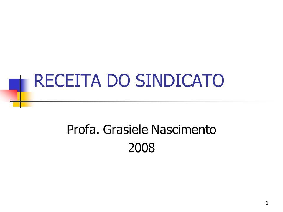 Profa. Grasiele Nascimento 2008