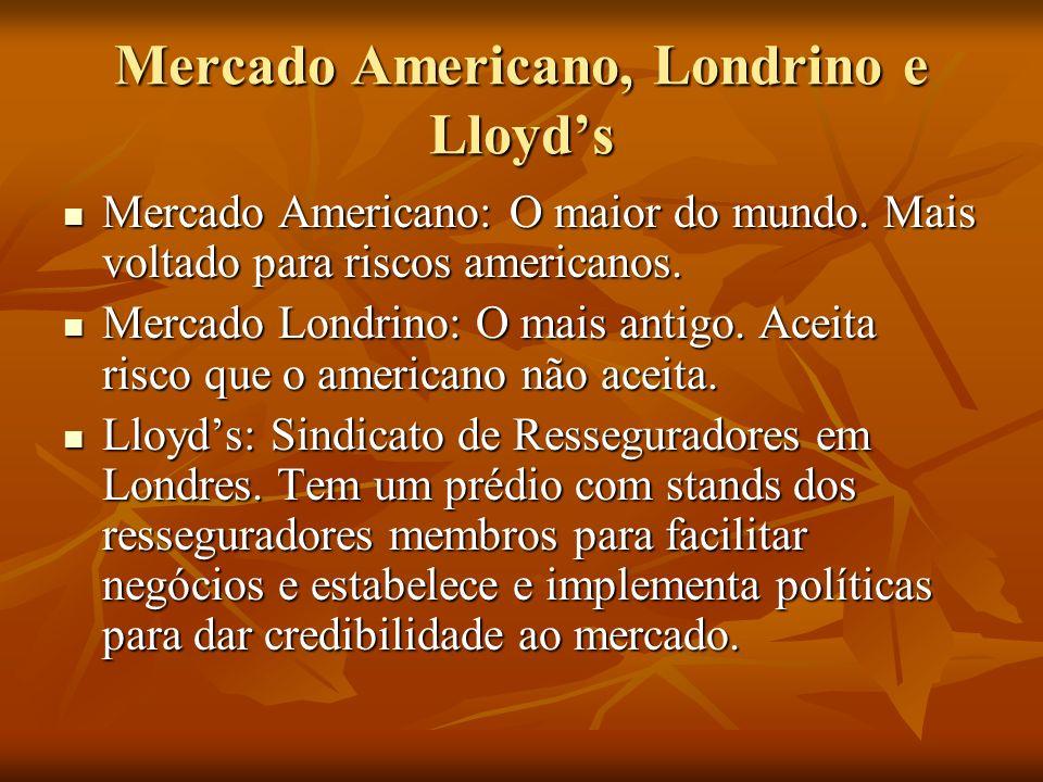 Mercado Americano, Londrino e Lloyd's