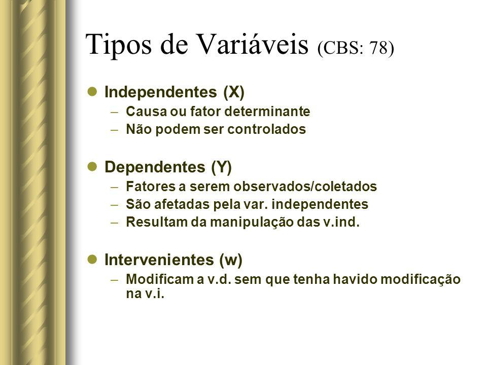 Tipos de Variáveis (CBS: 78)
