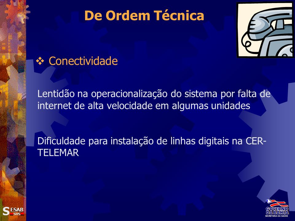 De Ordem Técnica Conectividade S