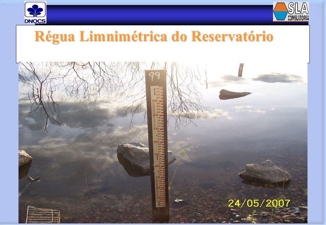 Régua Limnimétrica do Reservatório