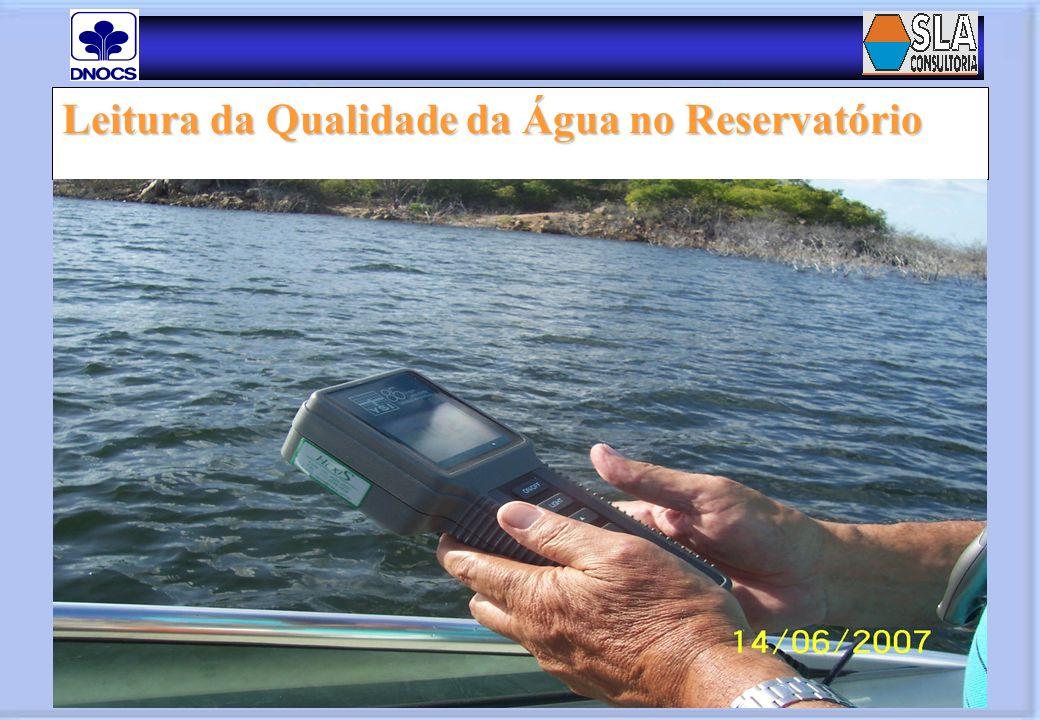 Leitura da Qualidade da Água no Reservatório