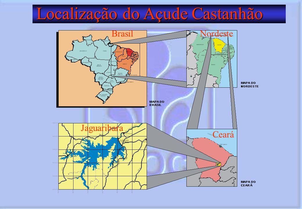 Localização do Açude Castanhão