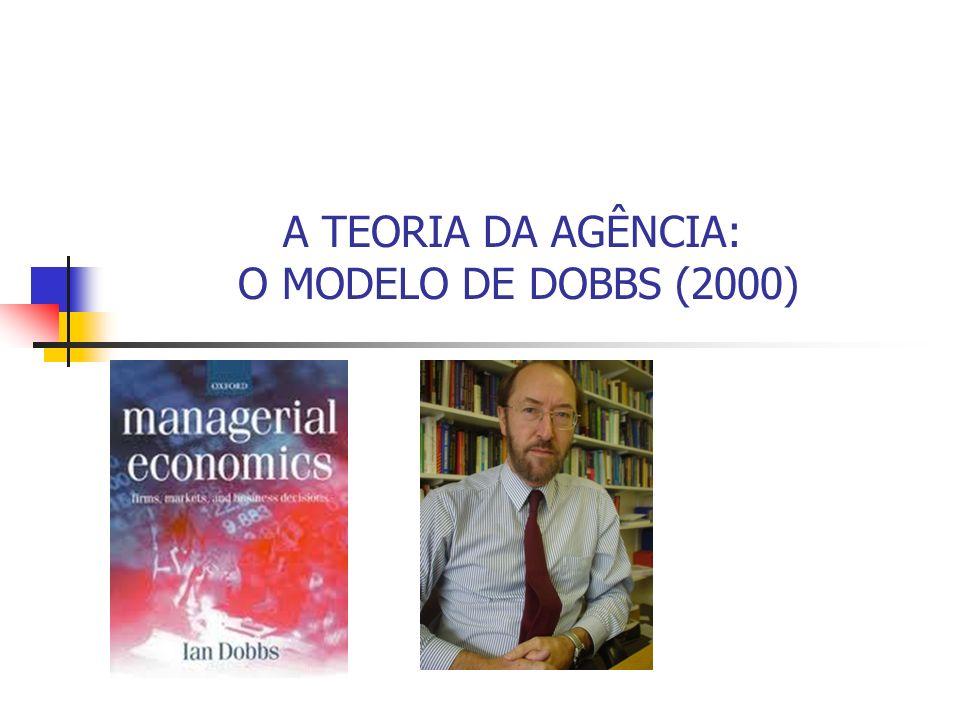 A TEORIA DA AGÊNCIA: O MODELO DE DOBBS (2000)