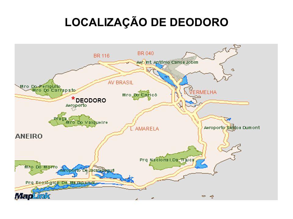 LOCALIZAÇÃO DE DEODORO