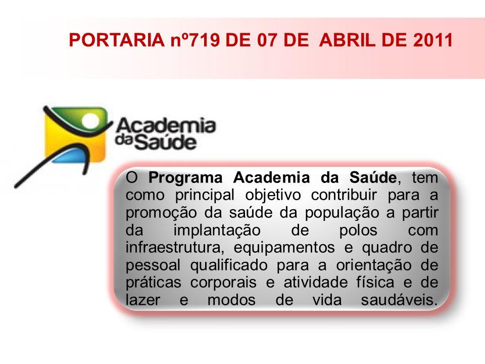PORTARIA nº719 DE 07 DE ABRIL DE 2011