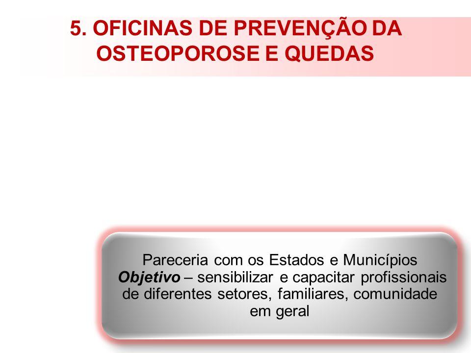 5. OFICINAS DE PREVENÇÃO DA OSTEOPOROSE E QUEDAS