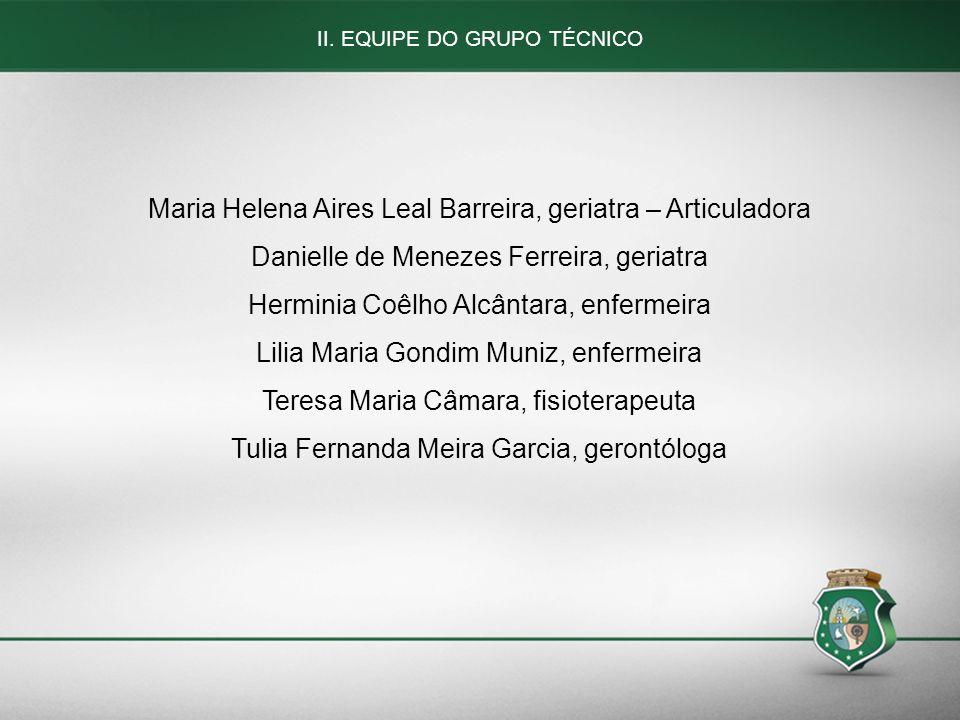Maria Helena Aires Leal Barreira, geriatra – Articuladora