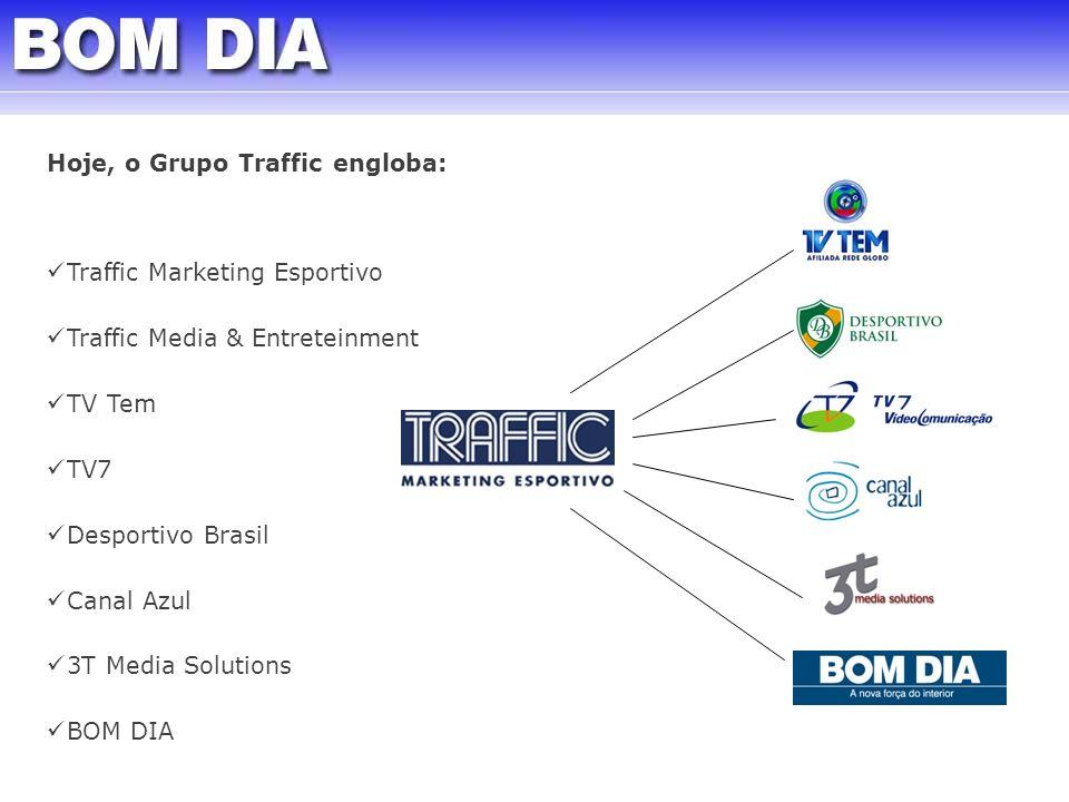 Hoje, o Grupo Traffic engloba: