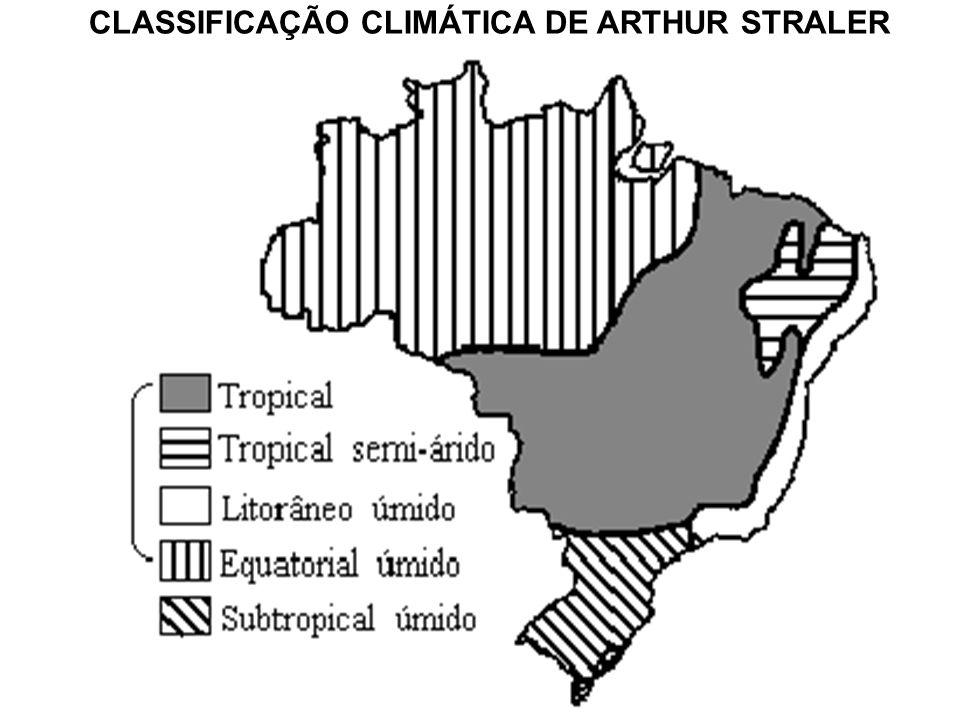 CLASSIFICAÇÃO CLIMÁTICA DE ARTHUR STRALER