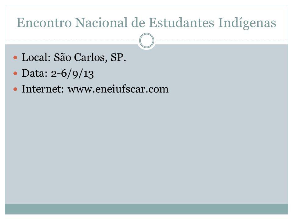 Encontro Nacional de Estudantes Indígenas