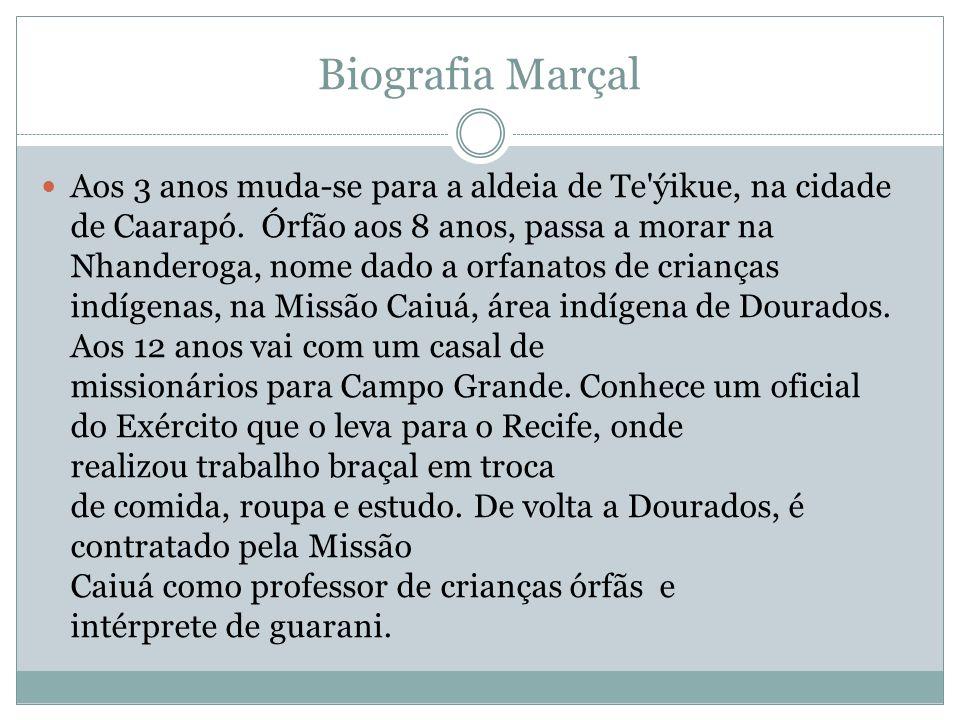 Biografia Marçal