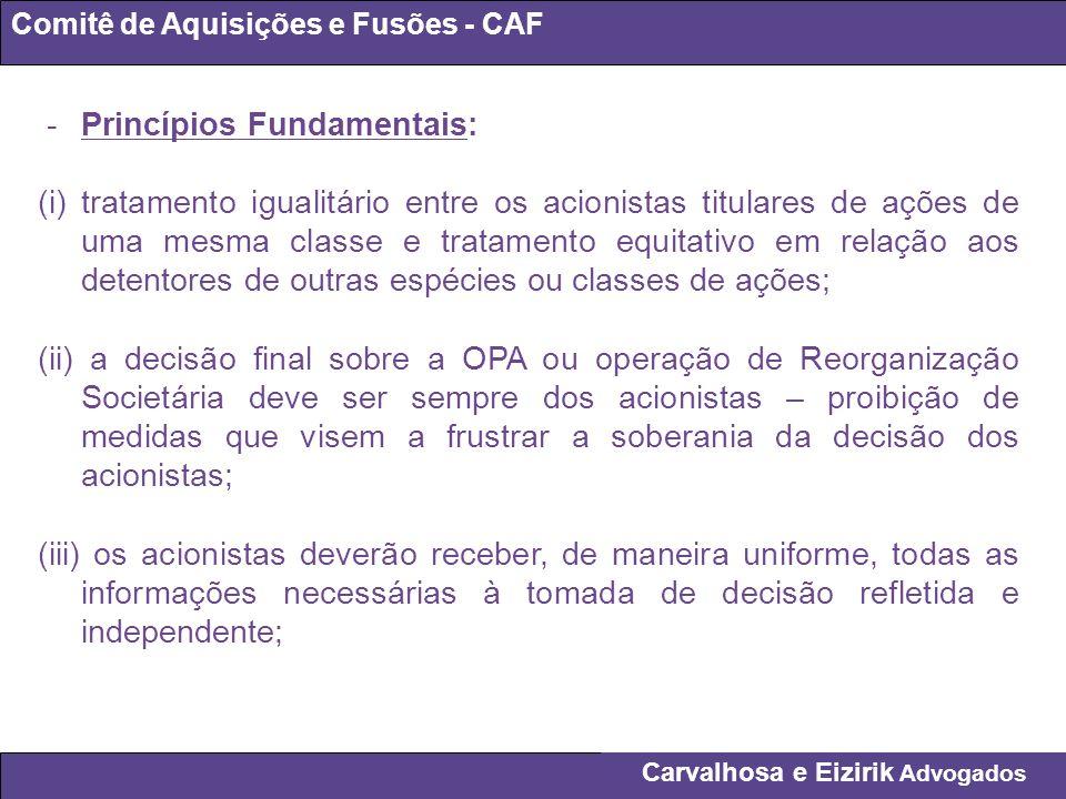 - Princípios Fundamentais: