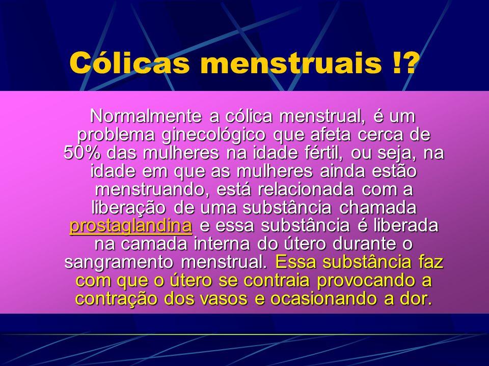 Cólicas menstruais !