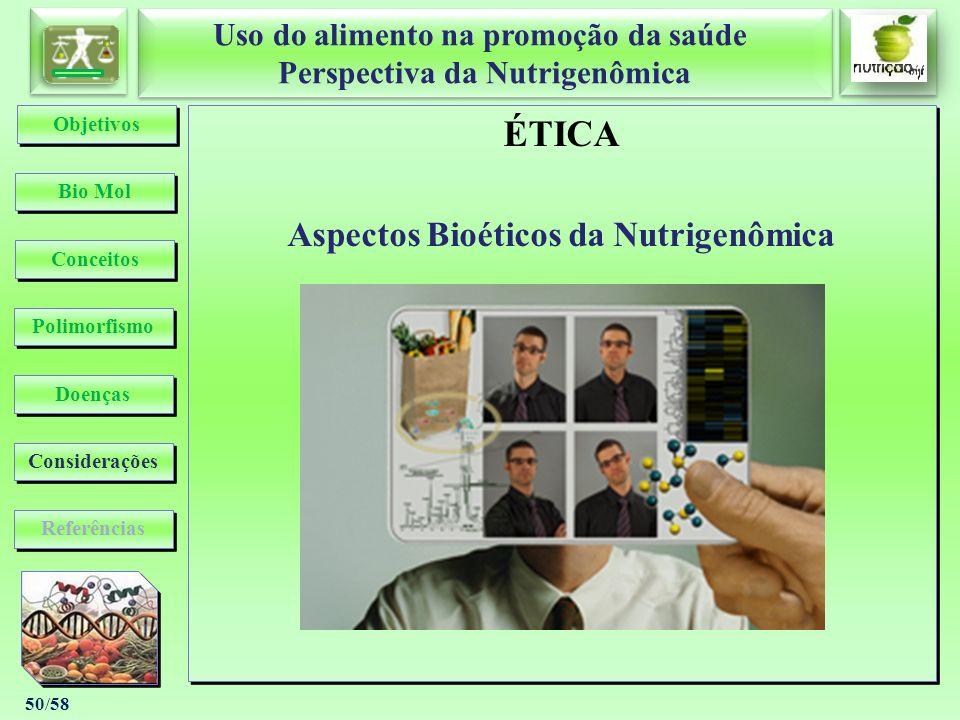 Aspectos Bioéticos da Nutrigenômica
