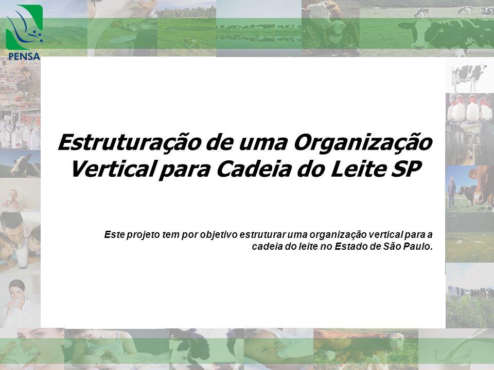 Estruturação de uma Organização Vertical para Cadeia do Leite SP