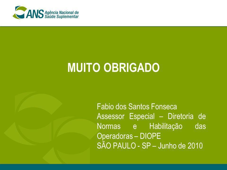 MUITO OBRIGADO Fabio dos Santos Fonseca
