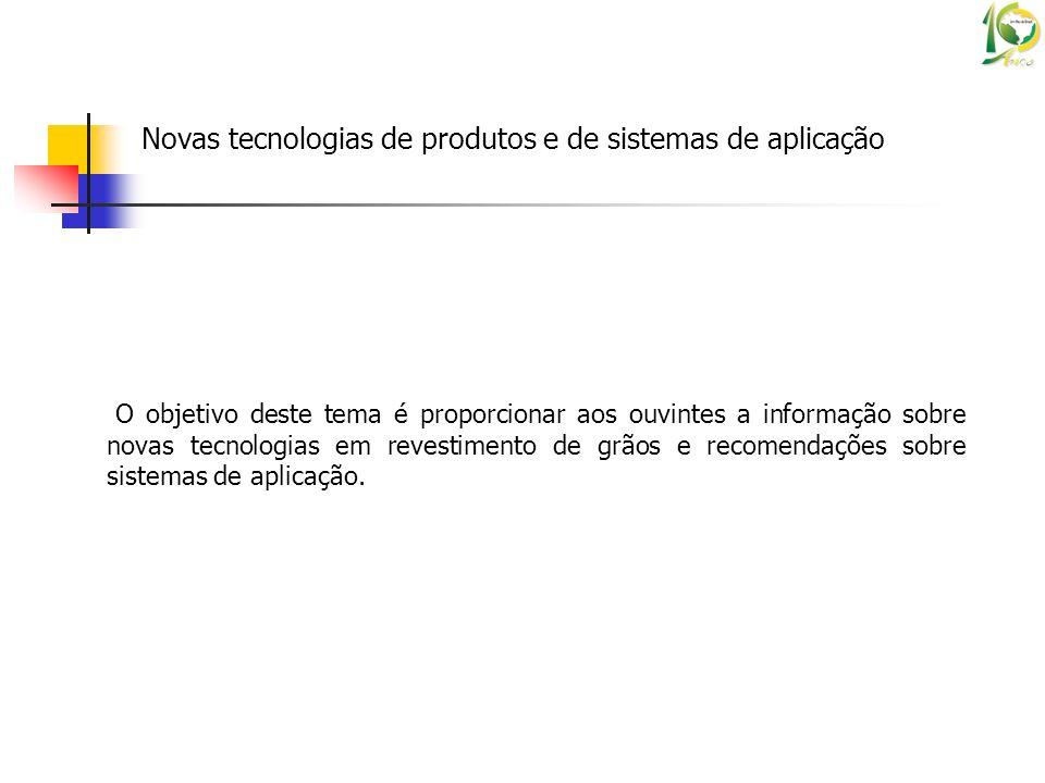 Novas tecnologias de produtos e de sistemas de aplicação