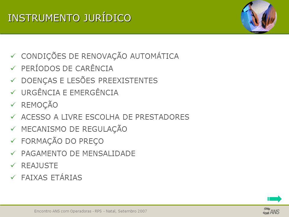 INSTRUMENTO JURÍDICO CONDIÇÕES DE RENOVAÇÃO AUTOMÁTICA