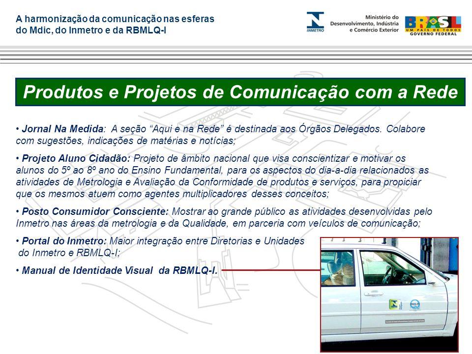Produtos e Projetos de Comunicação com a Rede
