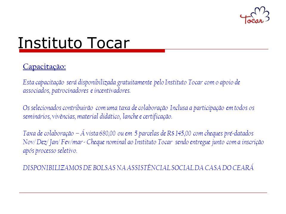 Instituto Tocar Capacitação: