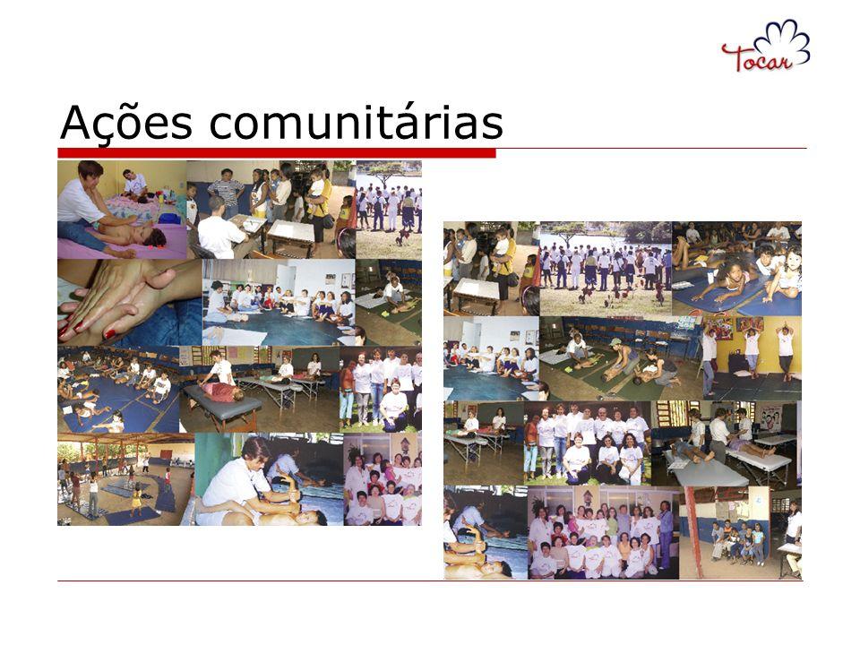 Ações comunitárias