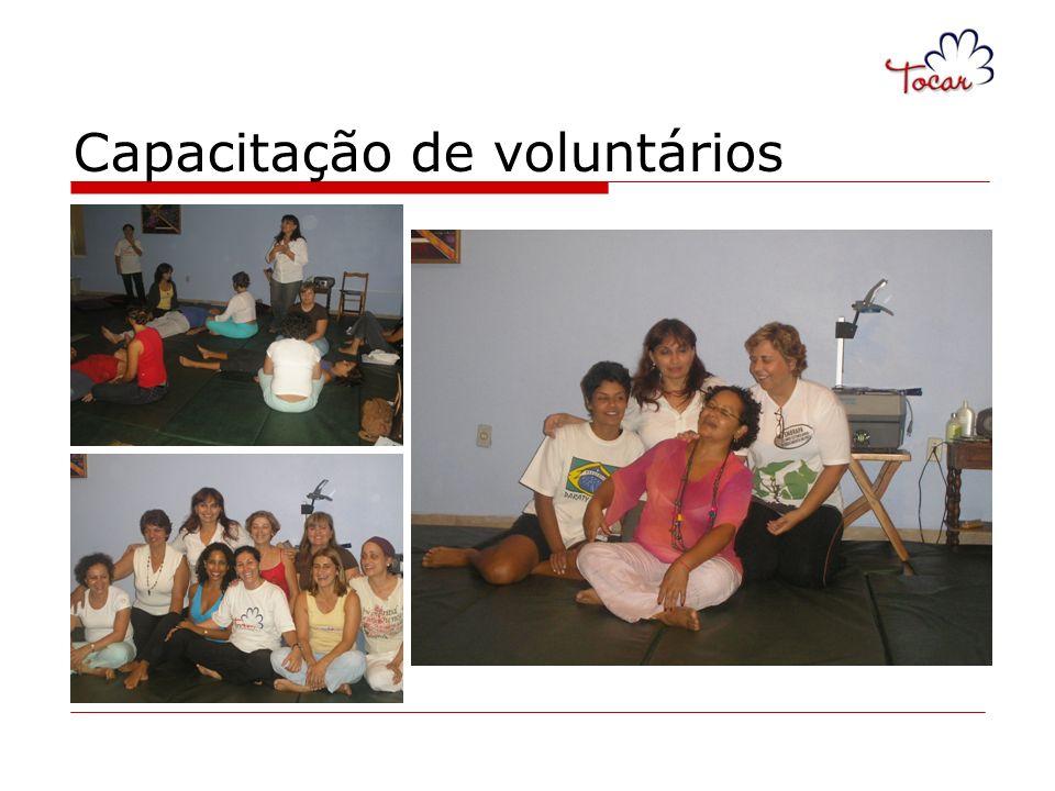 Capacitação de voluntários