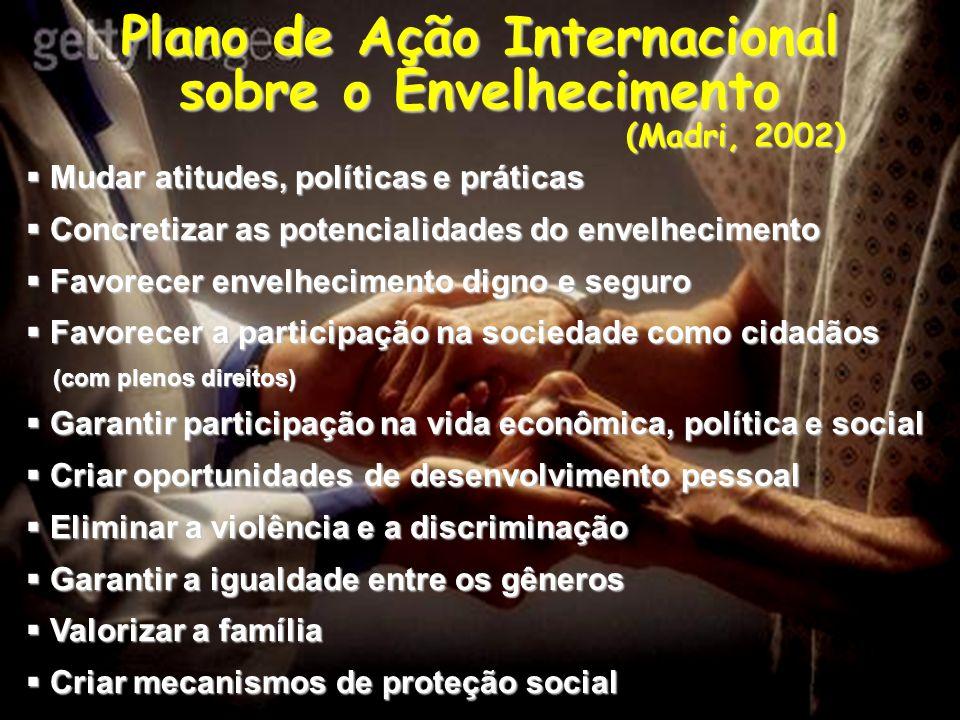 Plano de Ação Internacional sobre o Envelhecimento (Madri, 2002)