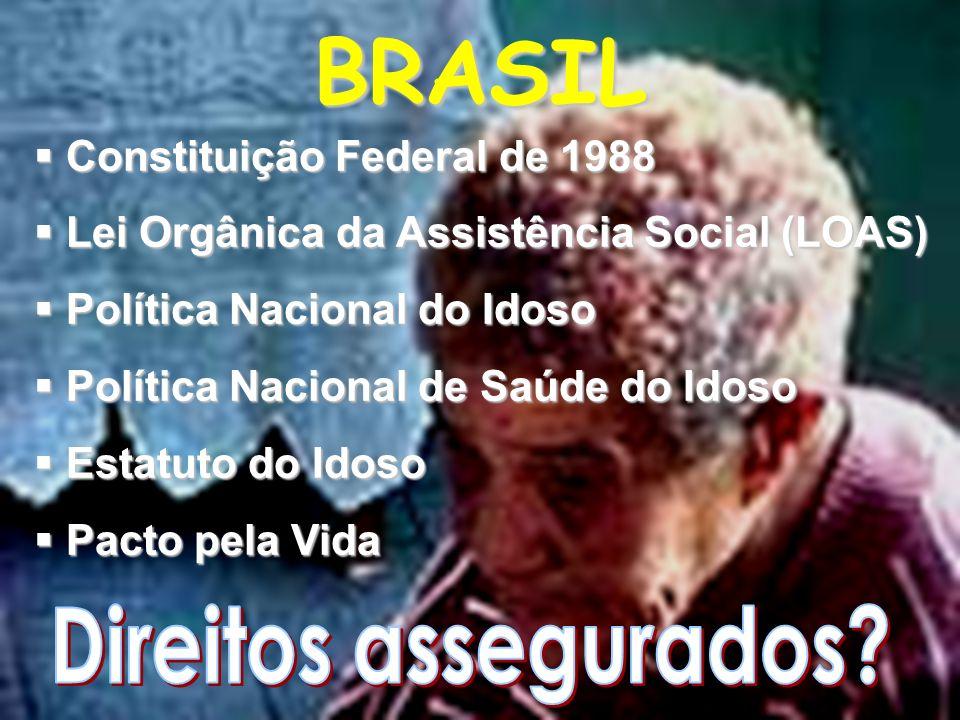 BRASIL Direitos assegurados Constituição Federal de 1988