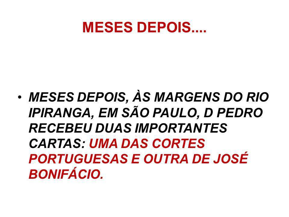 MESES DEPOIS....