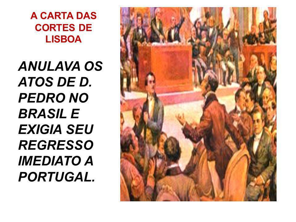 A CARTA DAS CORTES DE LISBOA