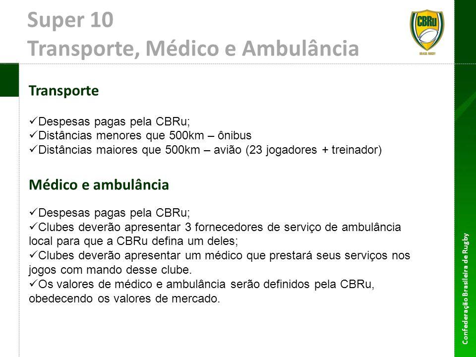 Super 10 Transporte, Médico e Ambulância