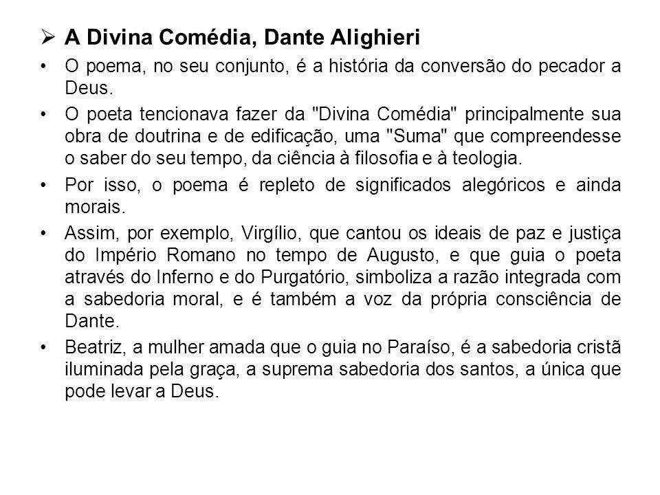 A Divina Comédia, Dante Alighieri