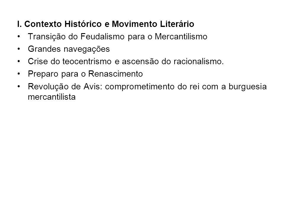 I. Contexto Histórico e Movimento Literário