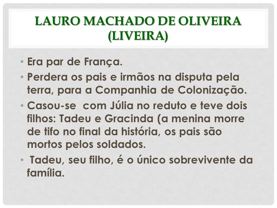 Lauro Machado de Oliveira (Liveira)