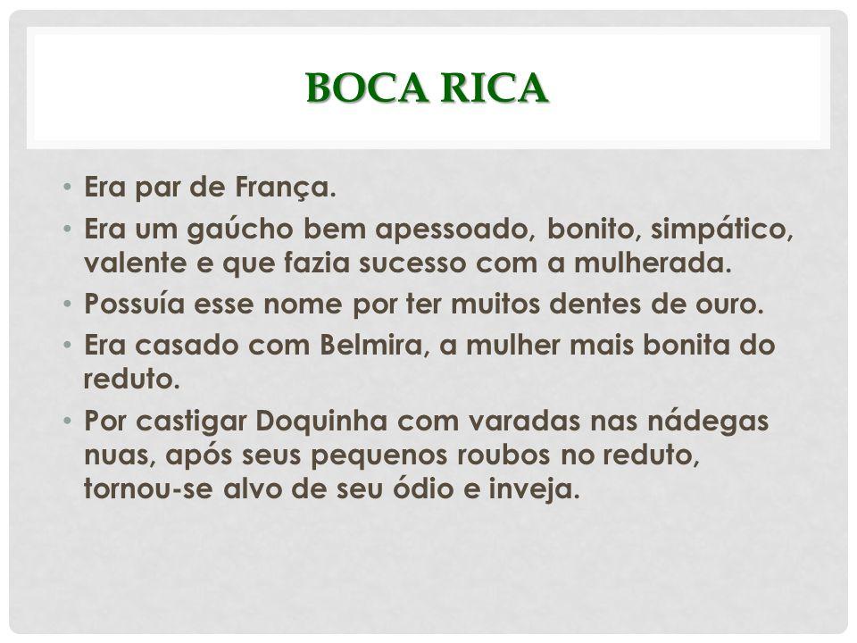 Boca Rica Era par de França.