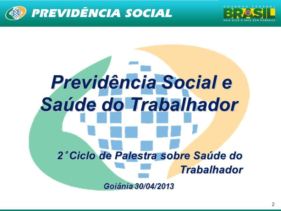 Previdência Social e Saúde do Trabalhador