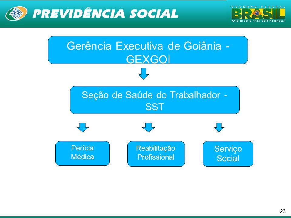 . Gerência Executiva de Goiânia - GEXGOI