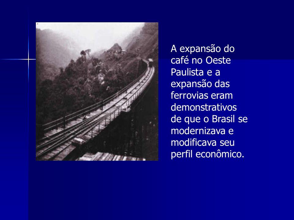 A expansão do café no Oeste Paulista e a expansão das