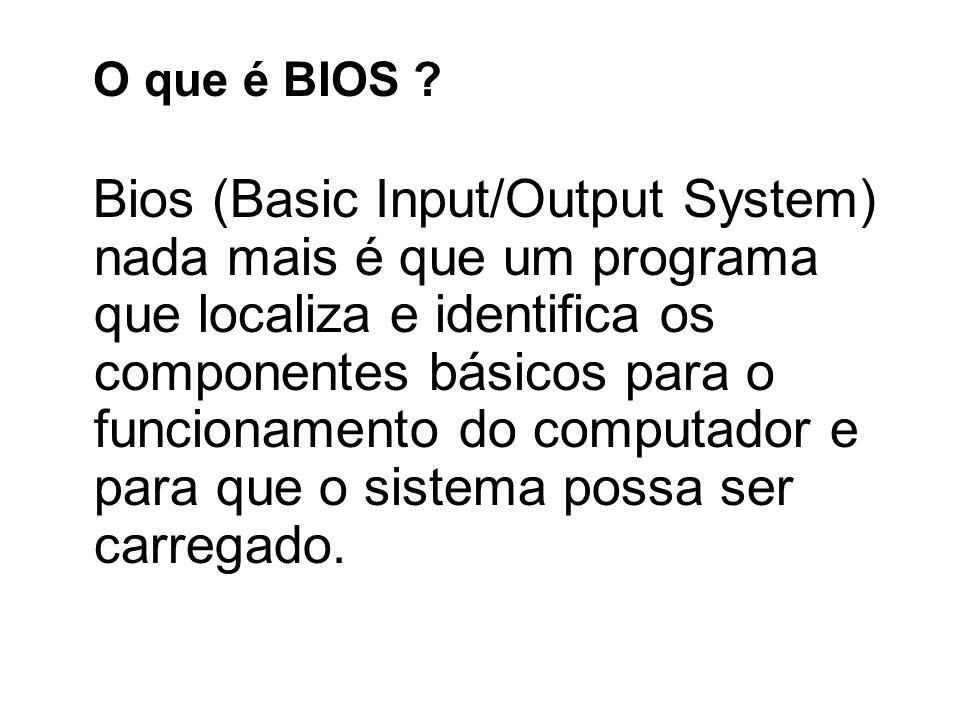 O que é BIOS