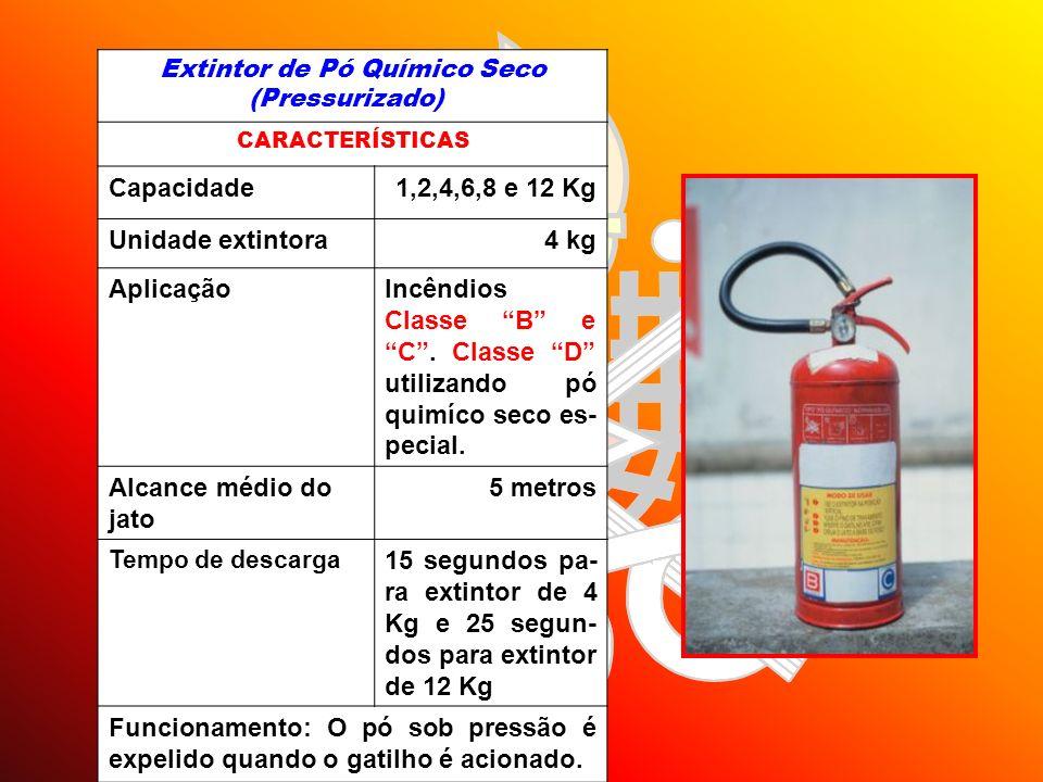 Extintor de Pó Químico Seco (Pressurizado)