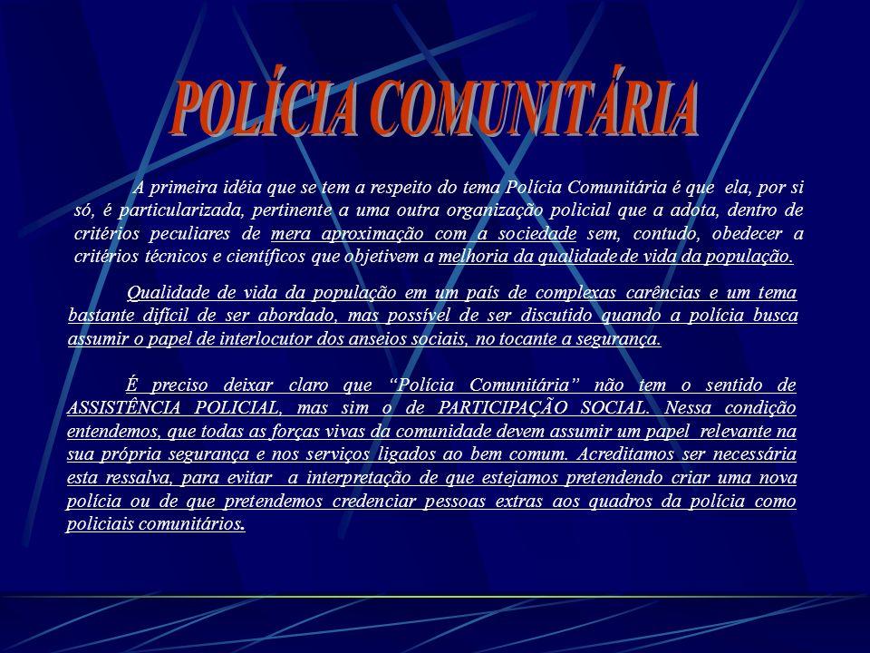 POLÍCIA COMUNITÁRIA